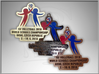 Medaile ISF Volleyball 2018