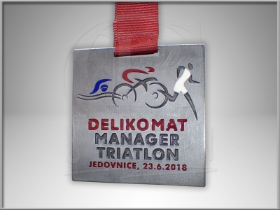 Medaile Manager Triatlon Jedovnice 2018