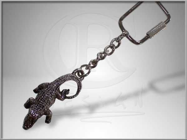 Pendant crocodile