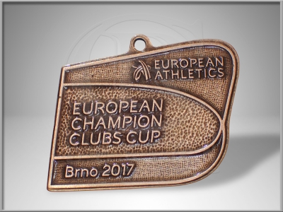 Medaile European Champion Clubs Cup